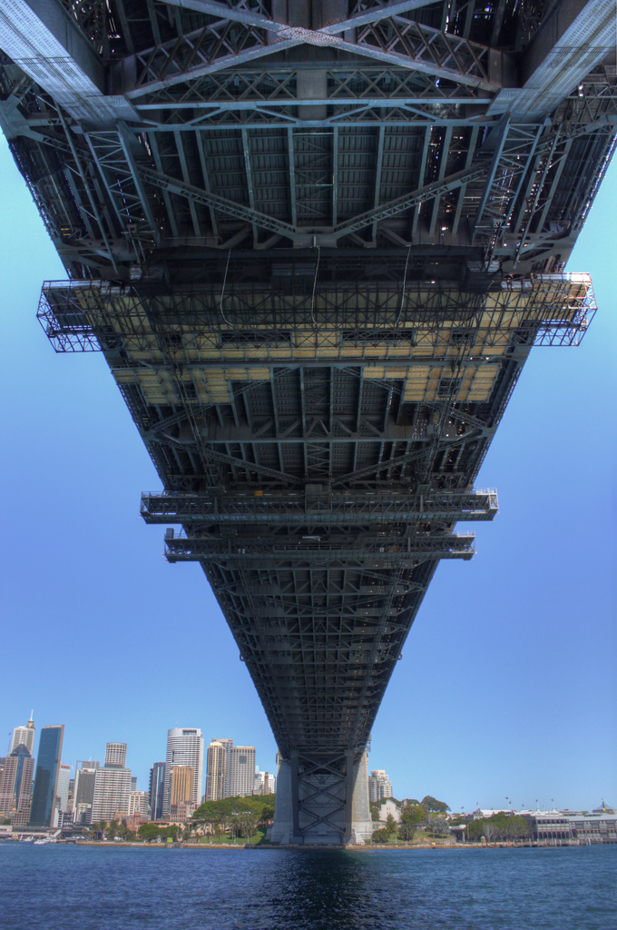 Sydney Harbour Bridge - tonemapped